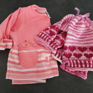 NEW LISTING! Set of infant 6mos sweaters